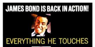 Agente 007, missione Goldfinger - la locandina