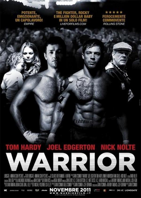 Warrior - la locandina