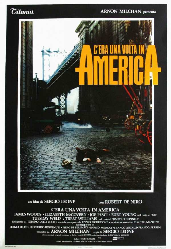 C'Era Una Volta In America - la locandina