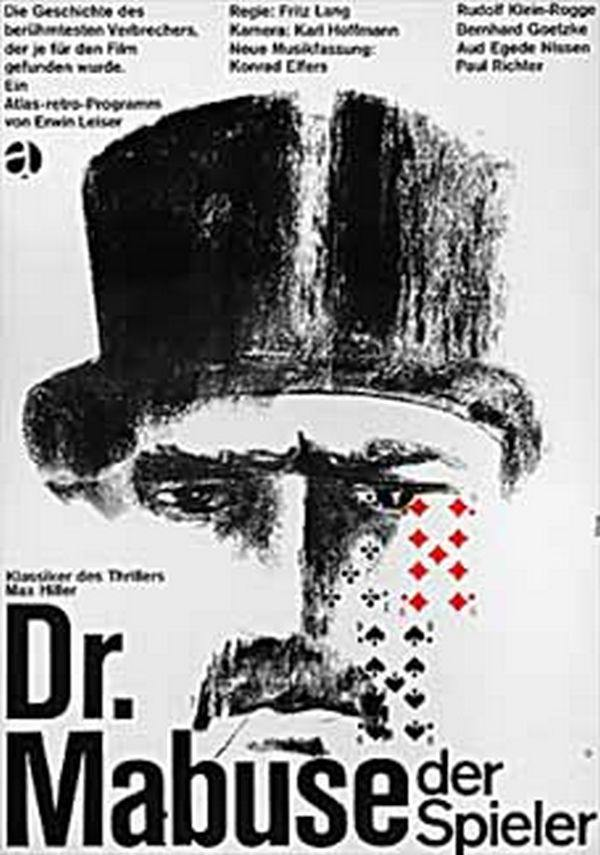 Il Dottor Mabuse - la locandina