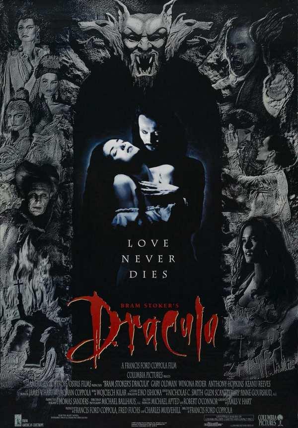 Dracula di Bram Stoker - la locandina