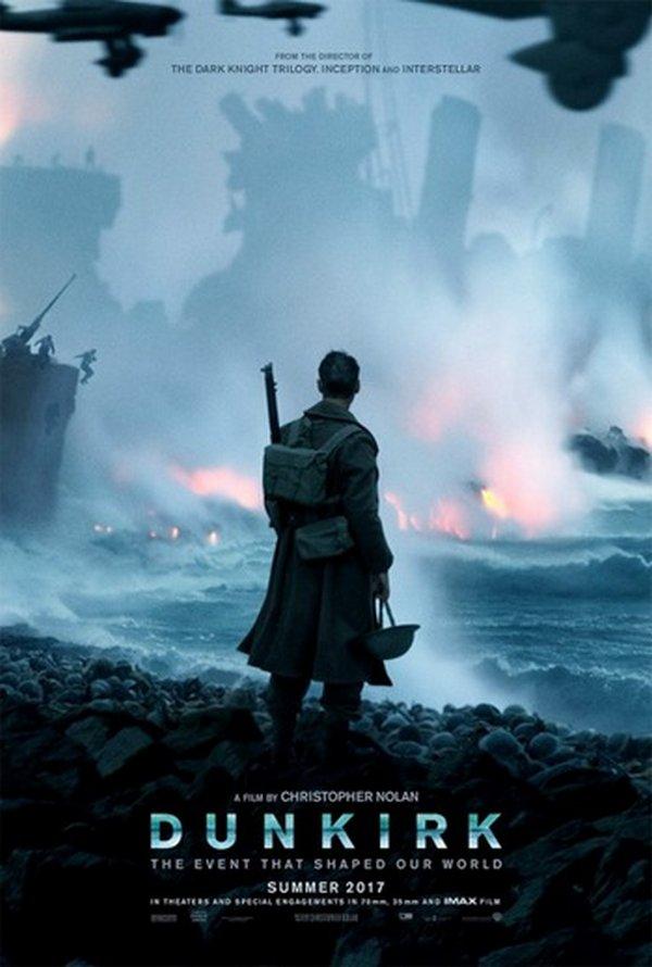 Dunkirk - la locandina