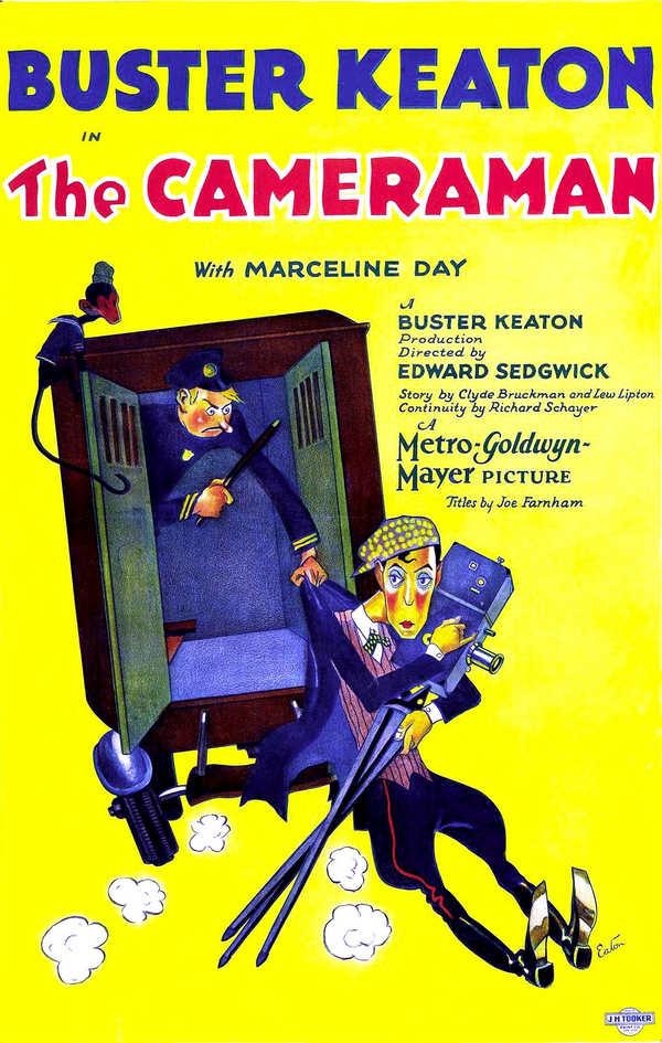 Il Cameraman - la locandina
