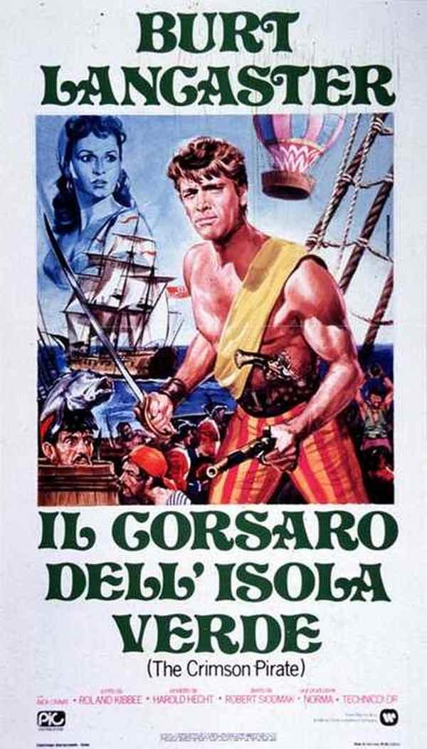 Il Corsaro Dell'Isola Verde - la locandina
