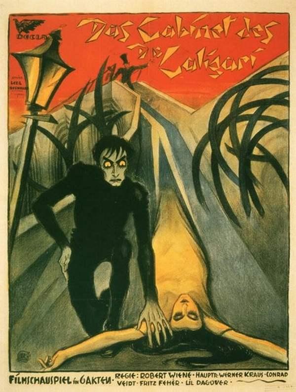 Il Gabinetto Del Dottor Caligari - la locandina