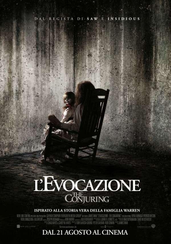 L'evocazione - The Conjuring - la locandina