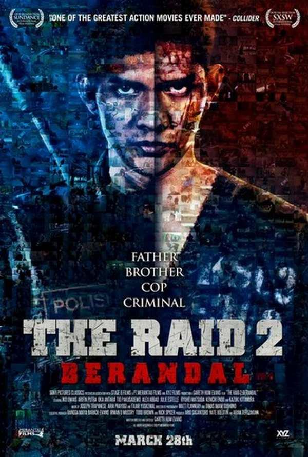 The Raid 2 - Berandal - la locandina