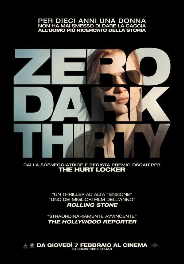 Zero Dark Thirty - la locandina